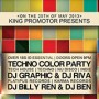 Techno Color Flyer