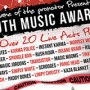 Music Awards Flyer