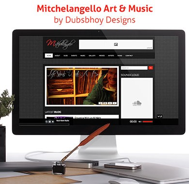 Mitchellangelo Art & Music